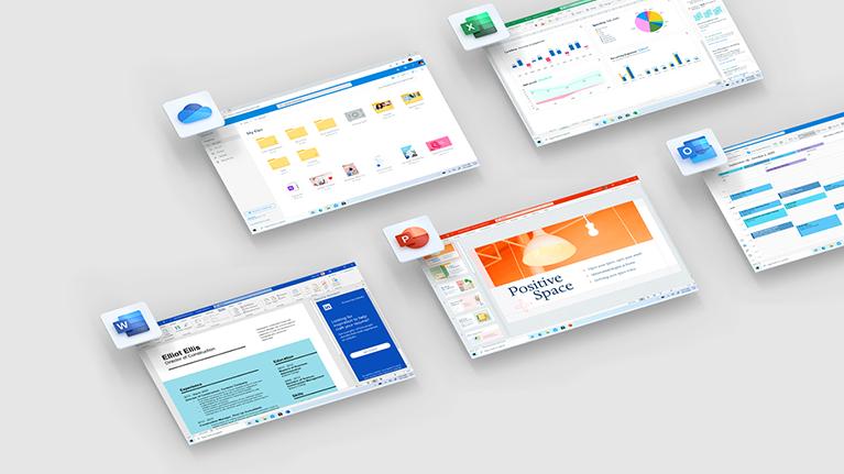 Aplicaciones de Office 365 en Microsoft 365