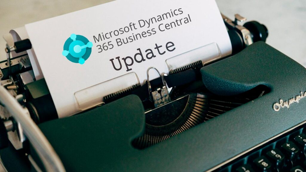 Actualización de 365 Business Central v.17.3